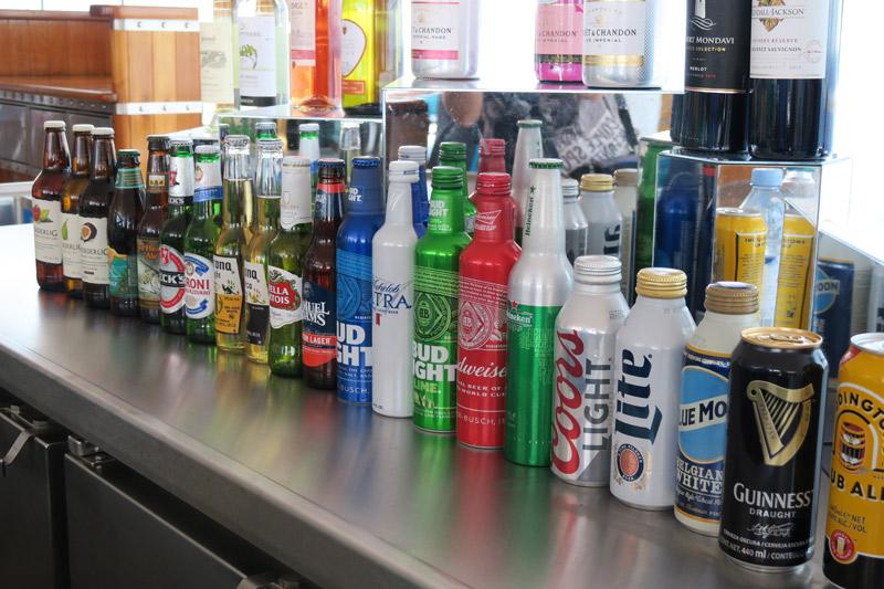 Bebidas no cruzeiro Disney: cervejas