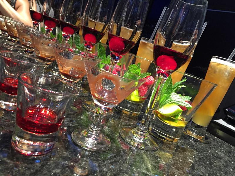 Bebidas no cruzeiro Disney: coquetéis