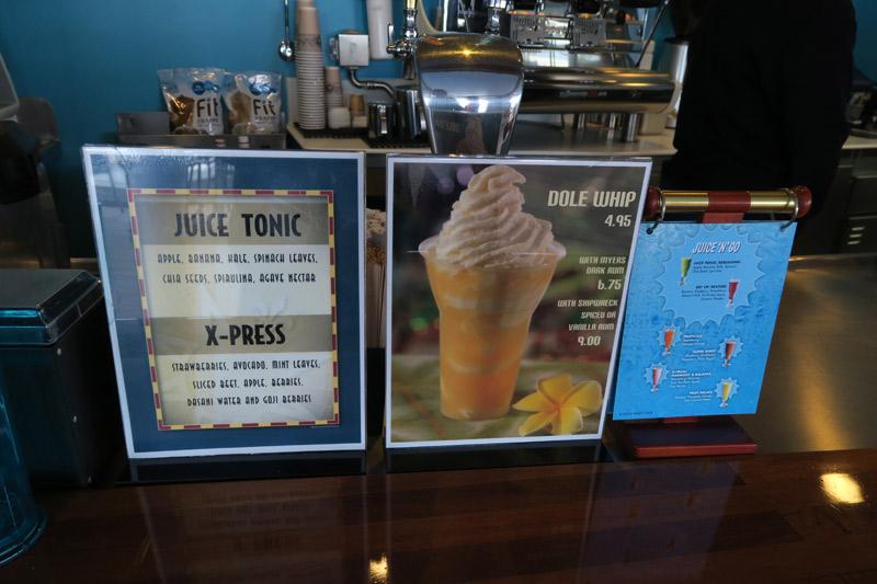 Bebidas no cruzeiro Disney: tem Dole Whip também!