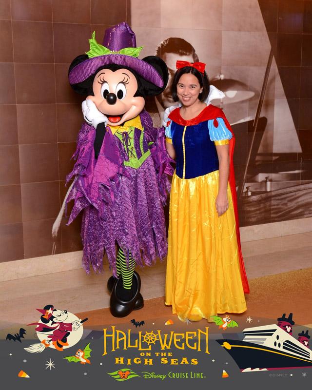 Eu e a Minnie bruxinha