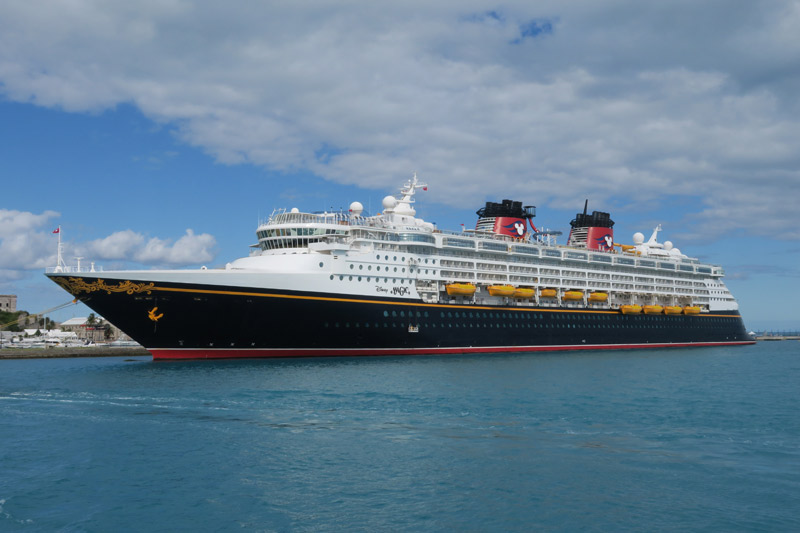 O Disney Magic em Bermuda