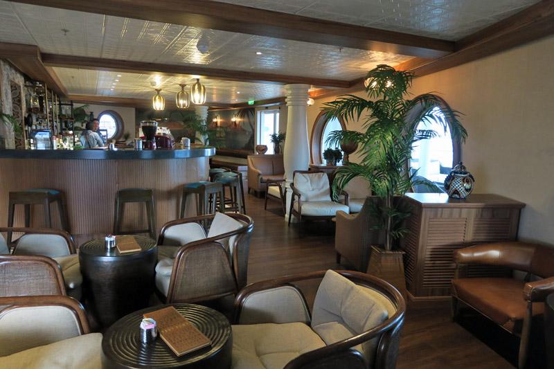 O Cove Café foi totalmente renovado