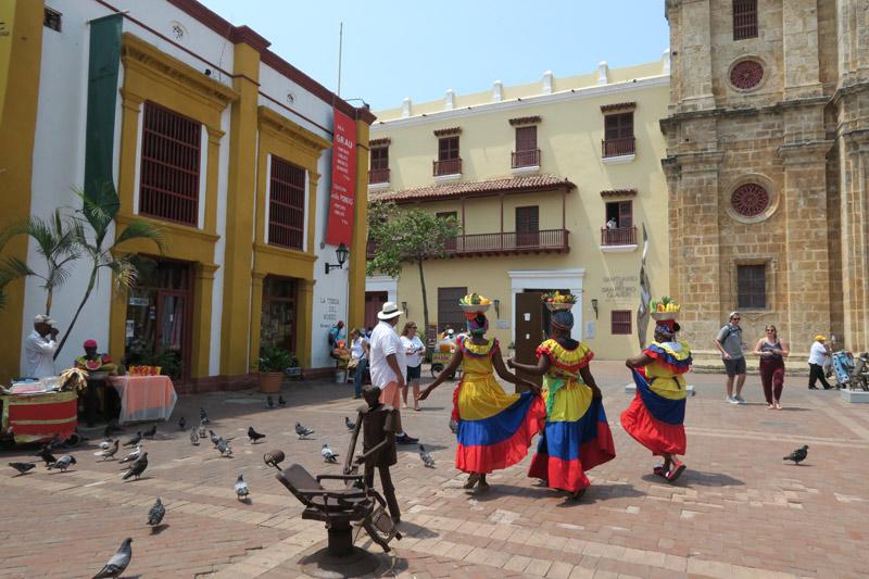 Palenqueras em Cartagena