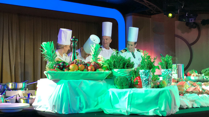 cruzeiro disney pelo canal do panama competicao de chefs
