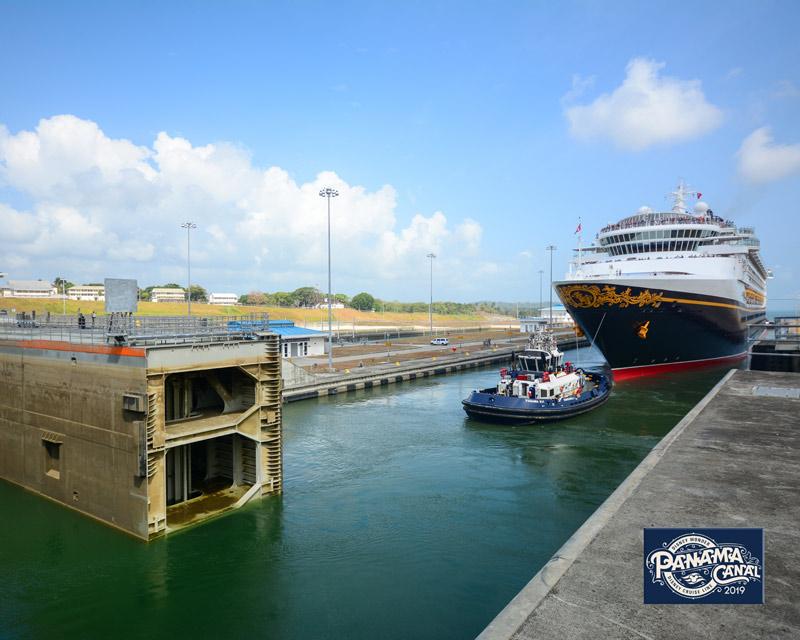 Cruzeiro Disney Travessia do Canal do Panama