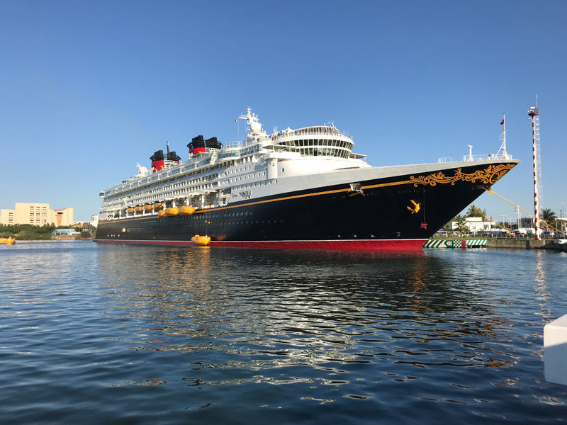 Disney Wonder em Puerto Vallarta, México
