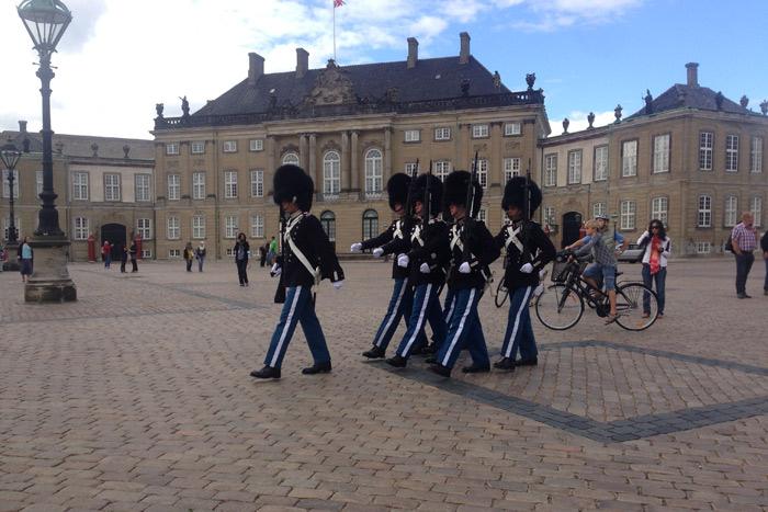 Amalienborg em Copenhague