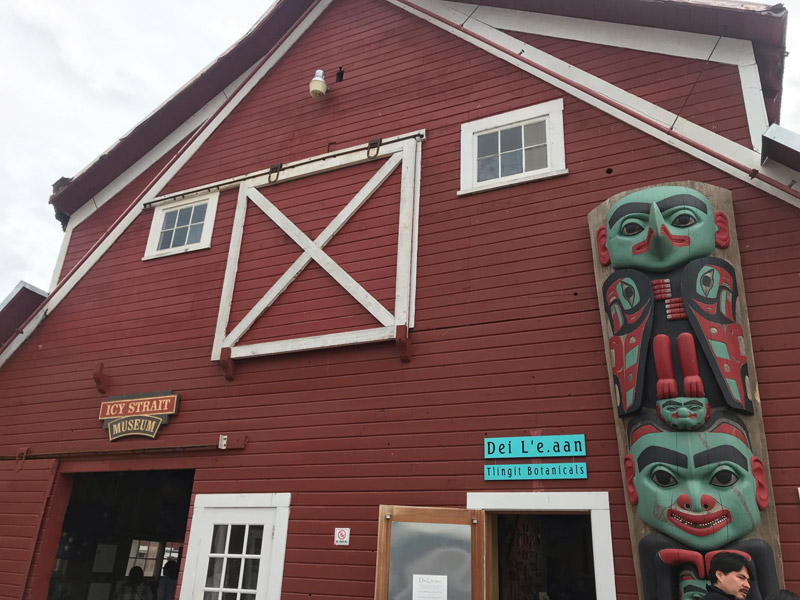 museu-em-icy-strait-point-alasca