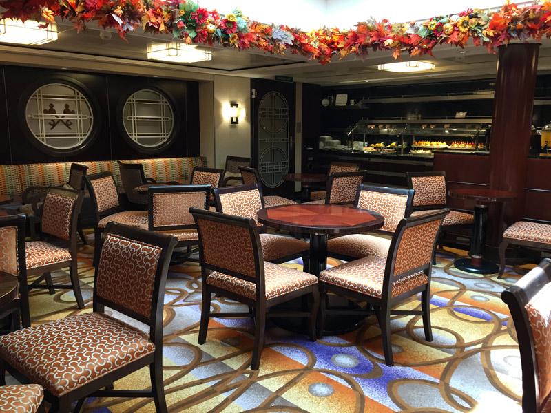 Benefícios da Cabine Concierge nos cruzeiros Disney: Concierge Lounge no Disney Dream