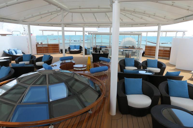 Benefícios da Cabine Concierge nos cruzeiros Disney: O Concierge Sun Deck no Disney Dream