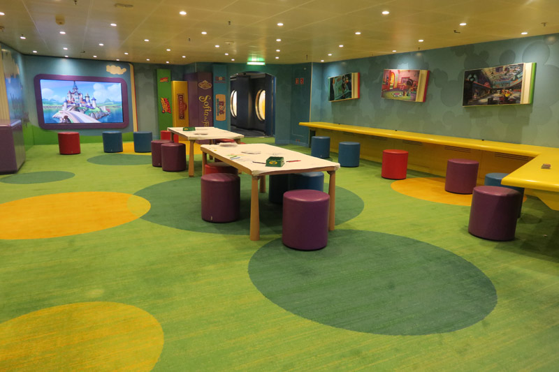 Oceaneer Club no Disney Wonder: Disney Junior