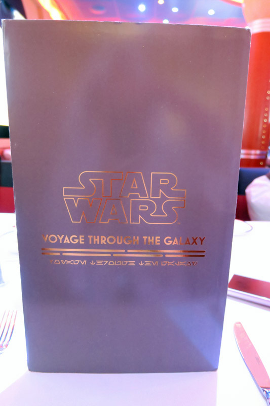 O menu especial do dia Star Wars no mar