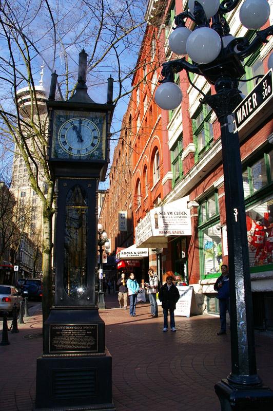 Gastown em Vancouver, a parte mais antiga da cidade. Foto: Mirella Mathiesen
