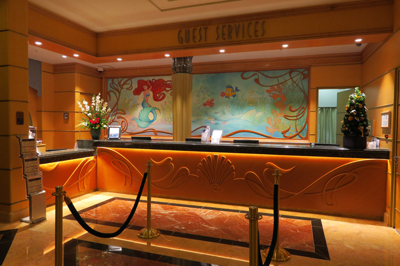 Guest Services do Disney Wonder