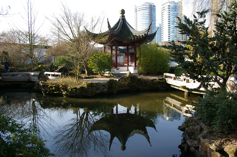 Jardim Chinês em Vancouver. Foto: Mirella Mathiesen